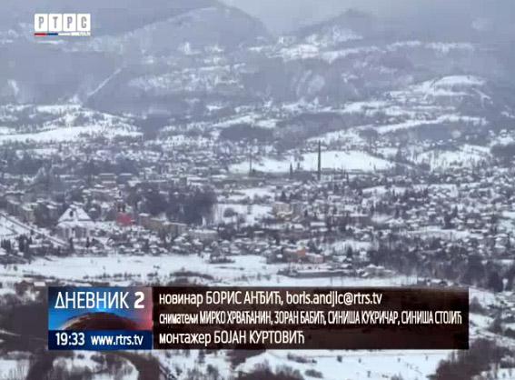 RTRS: Oštra zima pogodila općine u Federaciji sa većinskim srpskim stanovništvom
