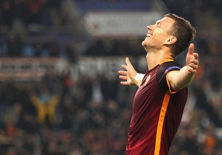 Eusebio Di Francesco: Džeko još može nositi Romu, ali mu treba pomoć