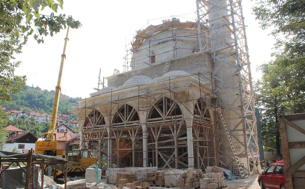 Radovi do kraja 2018.: Aladža džamija će biti otvorena naredne godine