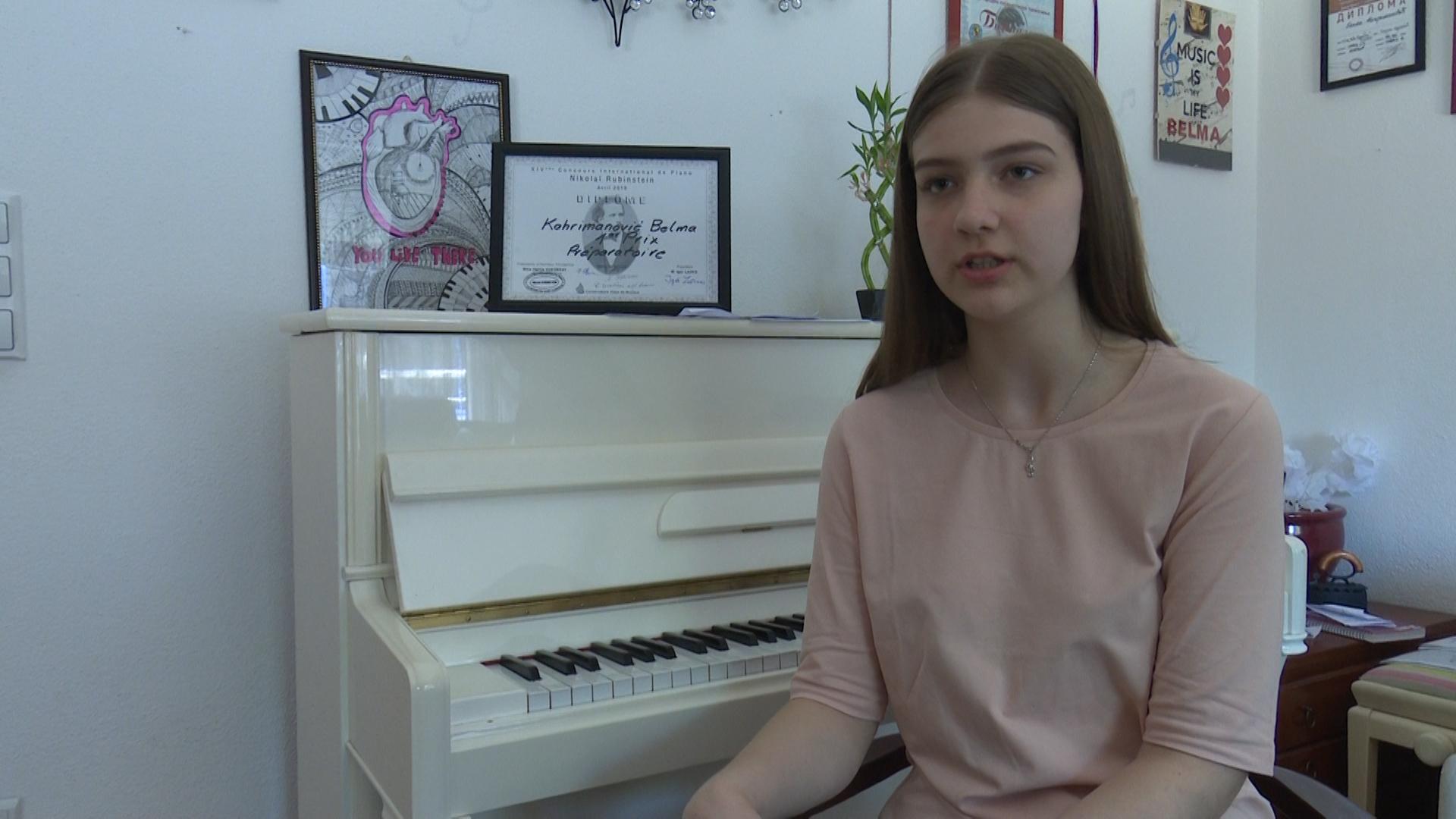 """Belma """"pokorila"""" Pariz/ Osvojila prvo mjesto na takmičenju mladih pijanista iz cijelog svijeta"""