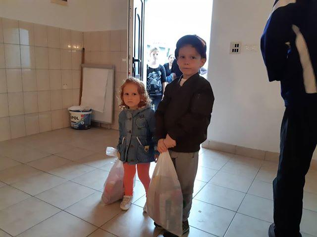 Podjela bajramskih paketića za mališane džemata Pobriježje