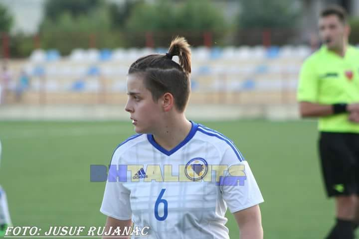 Ajna Golić strijelac gola za reprezentaciju