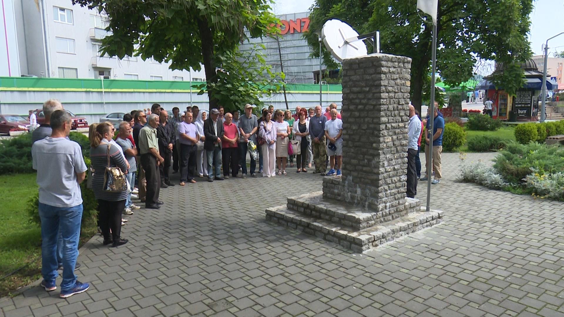 Sanjani obilježili Dan genocida u Srebrenici