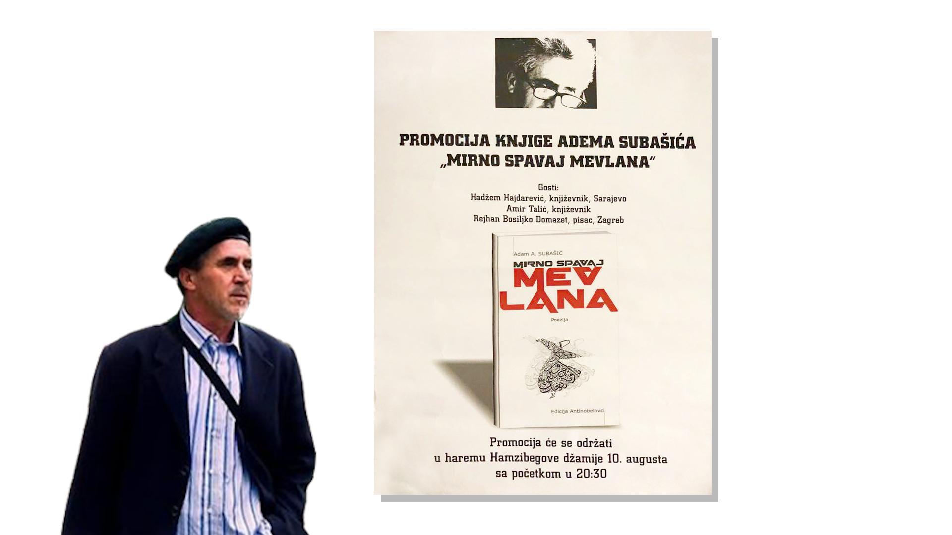Nova knjiga poezije Adama Subašića
