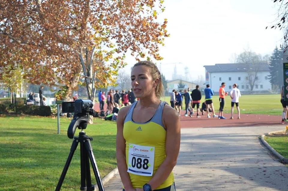 Amela Trožić osvojila treće mjesto na atletskoj utrci u Kiseljaku