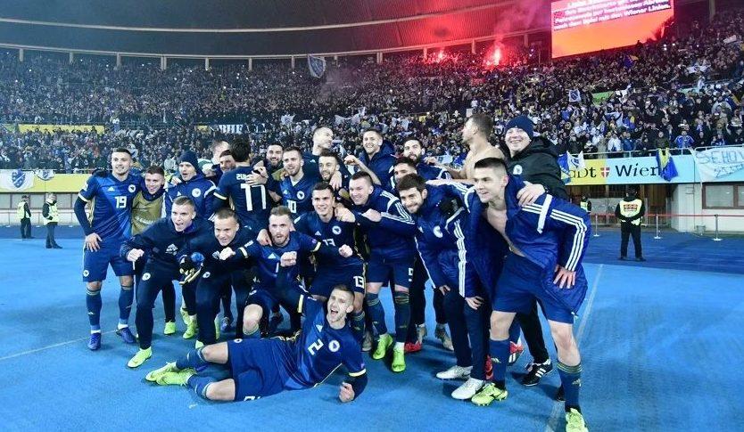 Reprezentacija BiH jedina iz Jugoistočne Evrope u elitnom rangu Lige nacija