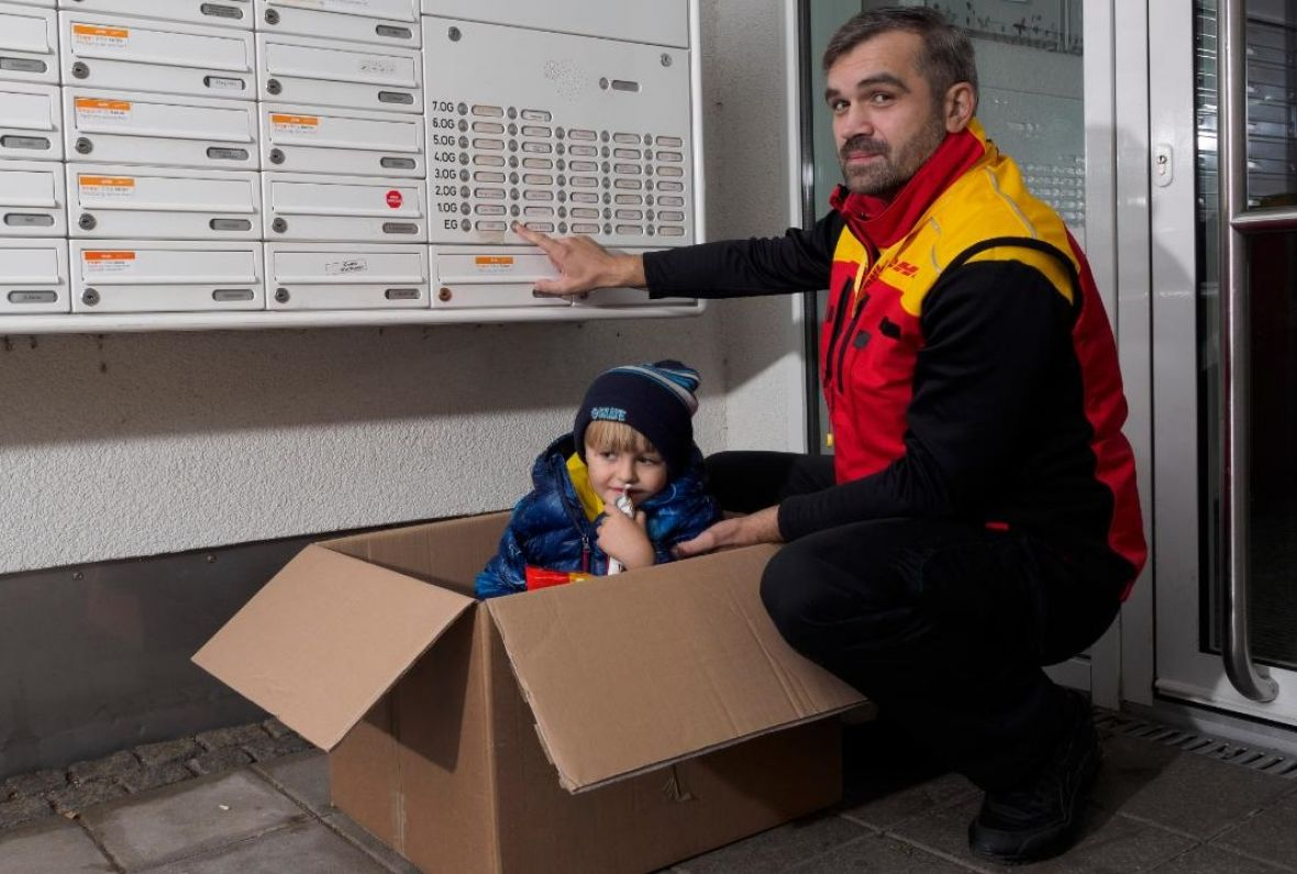 Bosanac junak dana: Najvrednija isporuka kurira DHL-a Harisa Softića