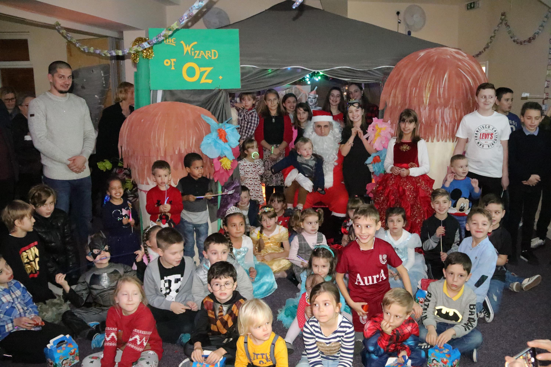 Novogodišnja zabava za djecu u Bosanskoj kući u Birminghamu