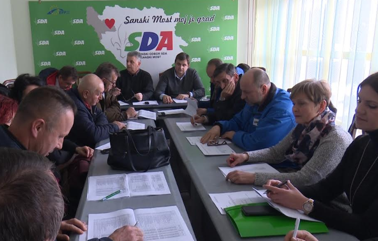 OO SDA: Privredni razvoj na prvom mjestu