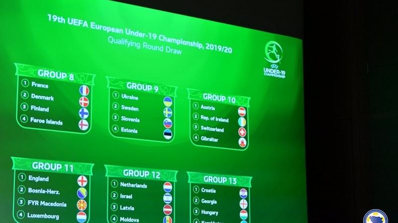 Bh. juniori protiv Engleske, Makedonije i Luksemburga