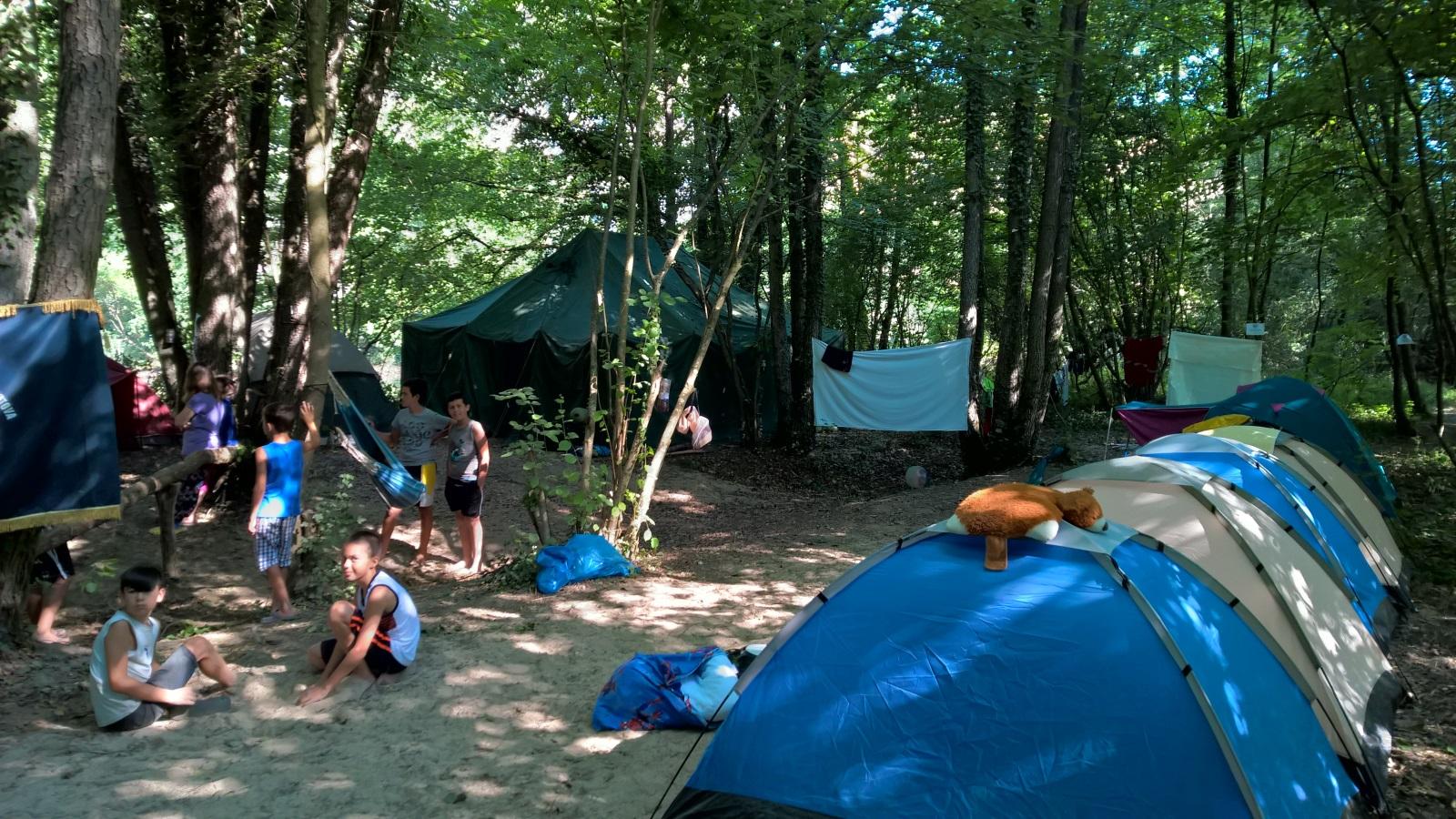 Kamp za mlade u netaknutoj prirodi Sane
