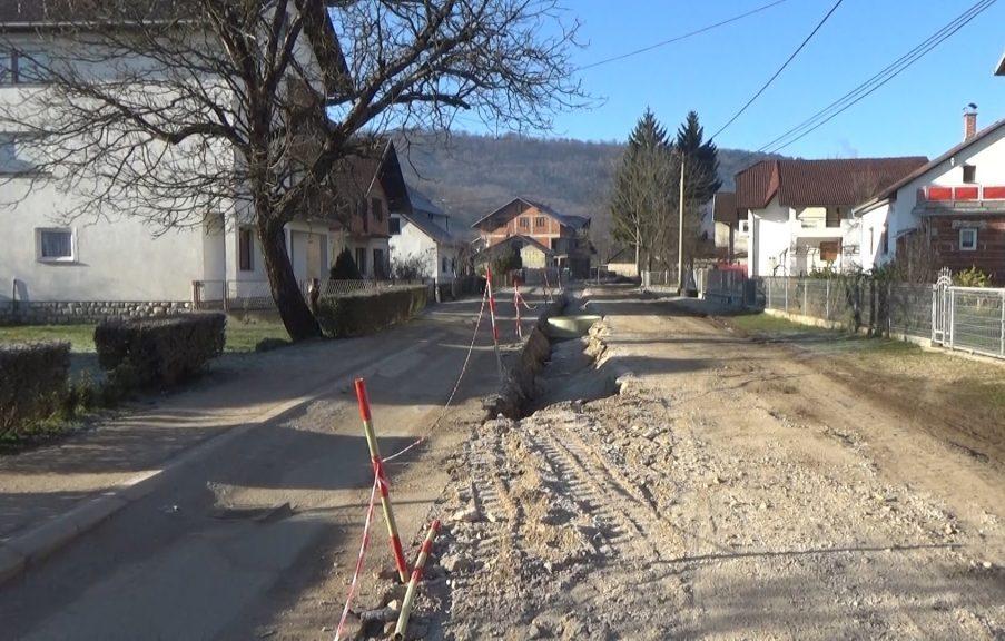 Radovi u Zdeni: Nakon kanalizacije slijedi asfaltiranje