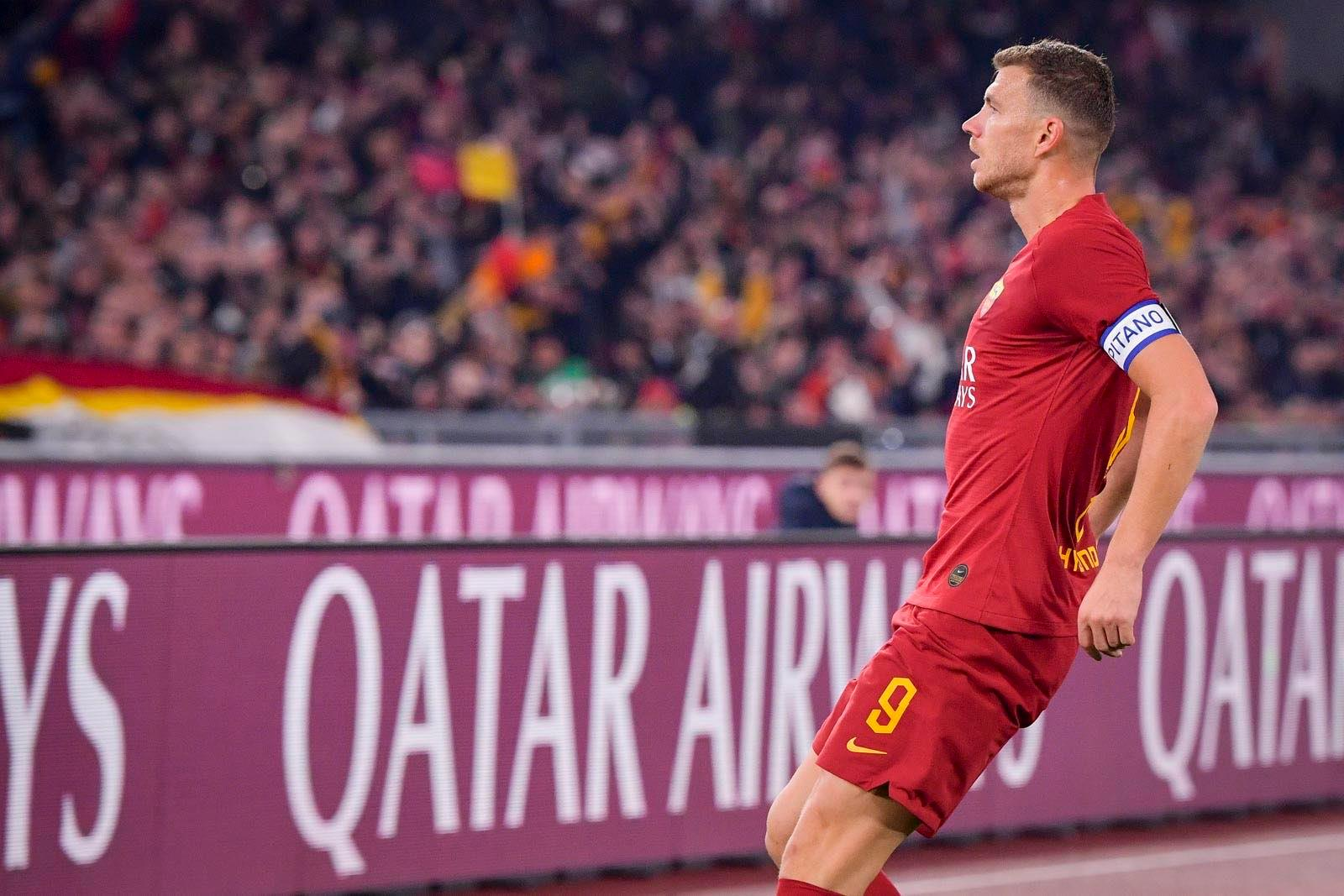 Džeko stigao do devetog ligaškog gola, Roma i Lazio remizirali u rimskom derbiju