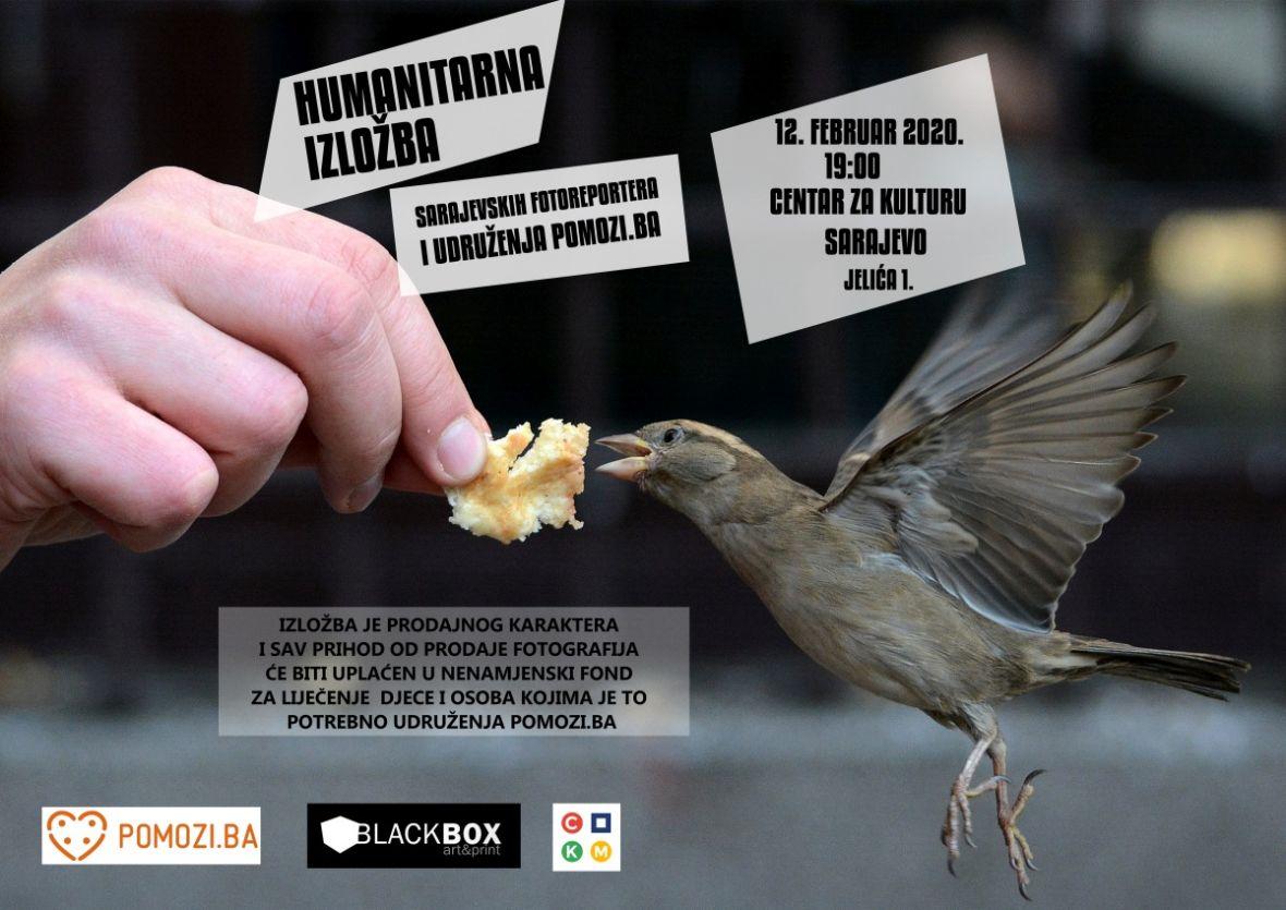 Pomozi.ba / Humanitarna izložba: Sarajevski fotoreporteri pomažu najugroženijima