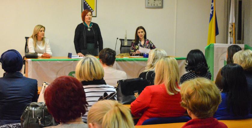Održana Izborna skupština organizacije Žena OO SDA Sanski Most