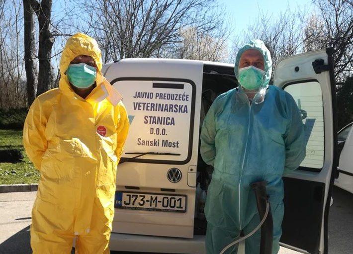 Izvršena dezinfekcija Opće bolnice
