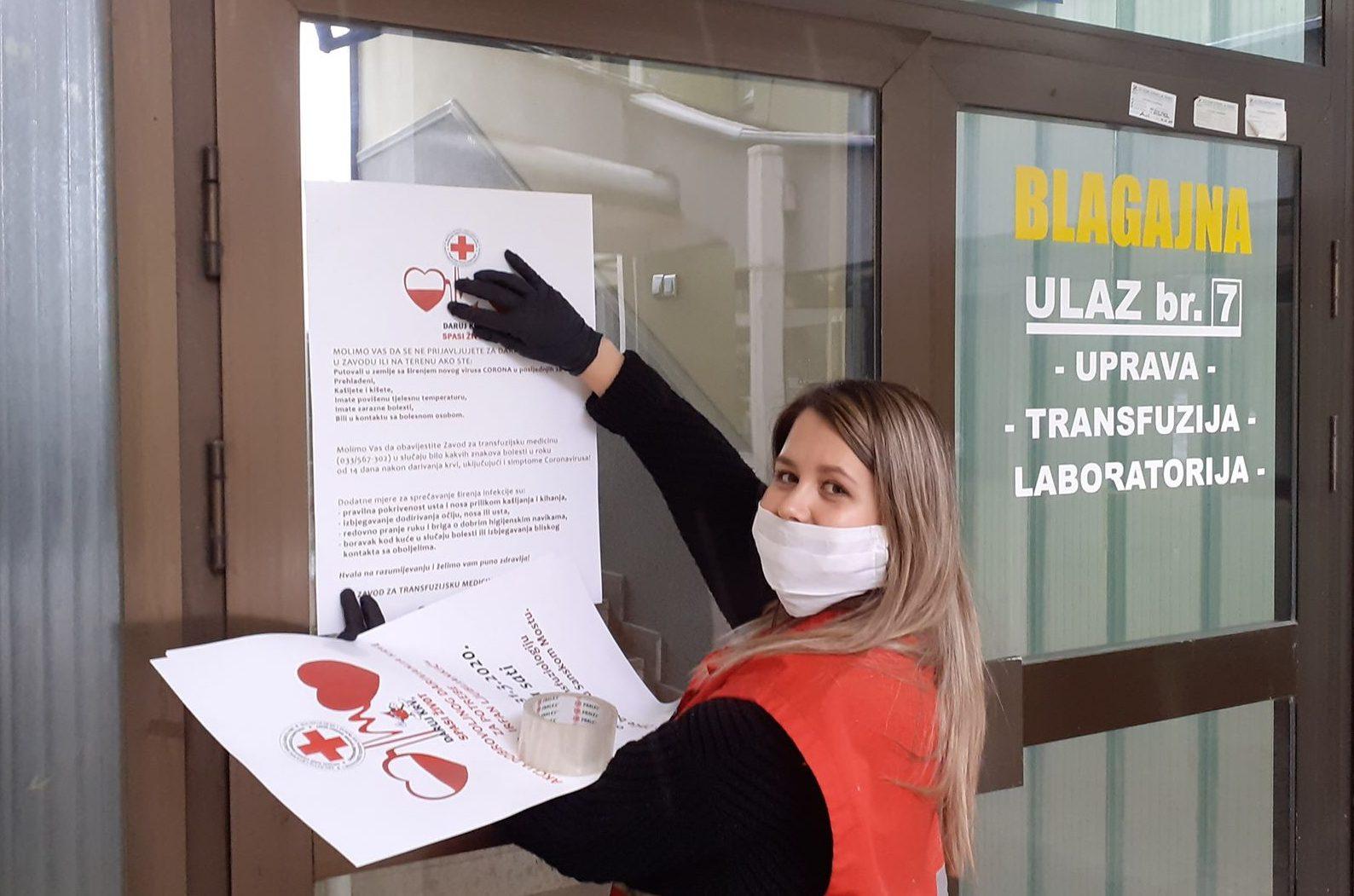 BRAVO Sanjani darovali krv za potrebe kantonalne bolnice