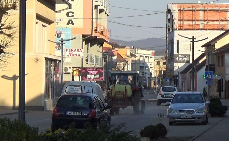 Dezinfekcija gradskih ulica
