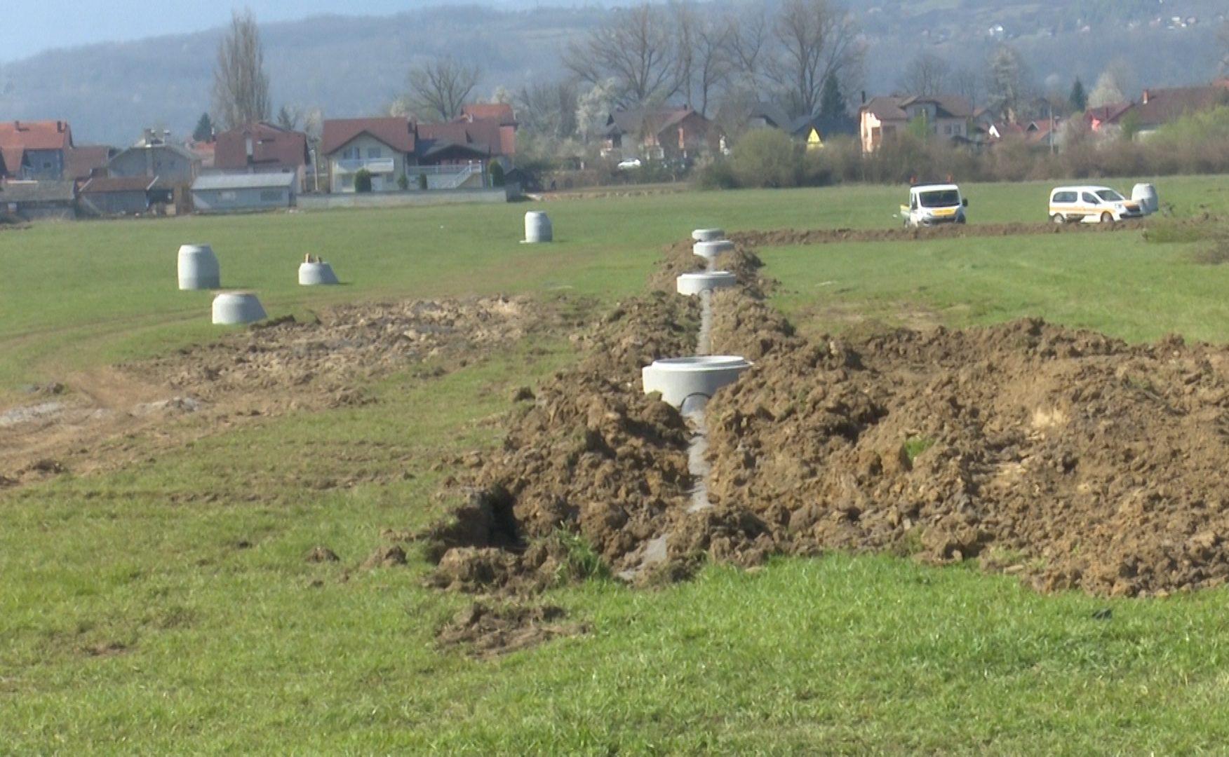 Izgradnja kanalizacije u Kruharima