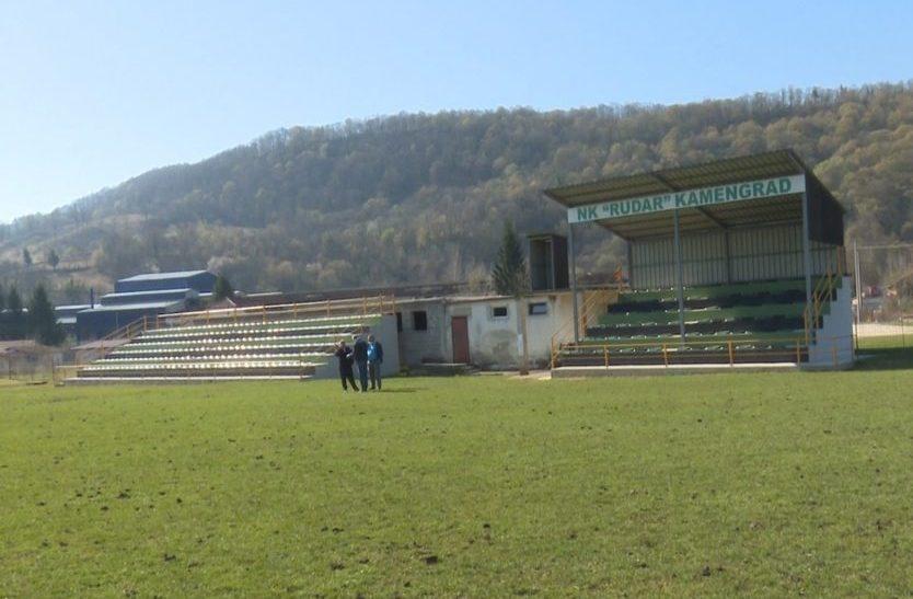 Počela izgradnja pomoćnog terena na stadionu Rudar