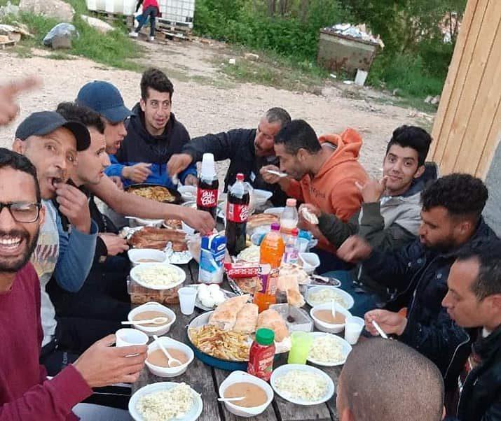 Hvala od srca svima koji ste obezbjedili iftare za migrante u tranzitu