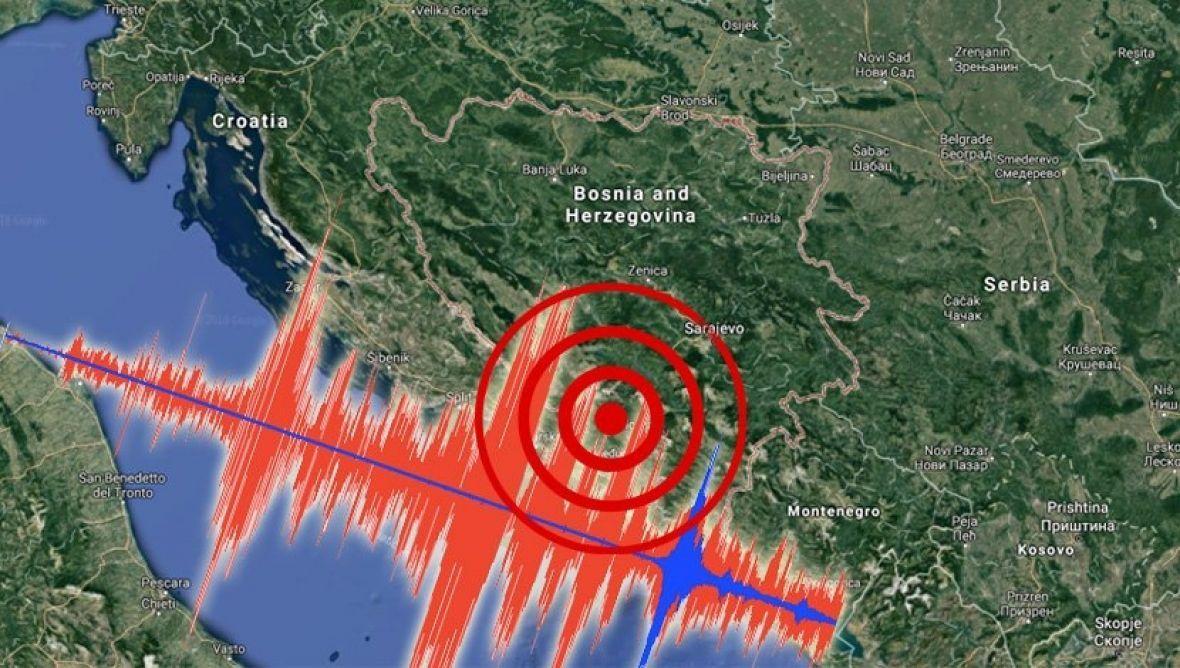 Zemljotres jačine 2.7 stepeni potresao BiH