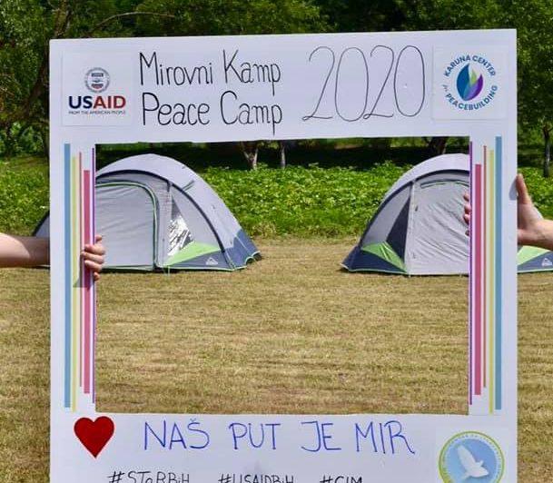 Otvoren Mirovni kamp u Sanskom Mostu: Sve mlade u BiH muče isti problemi