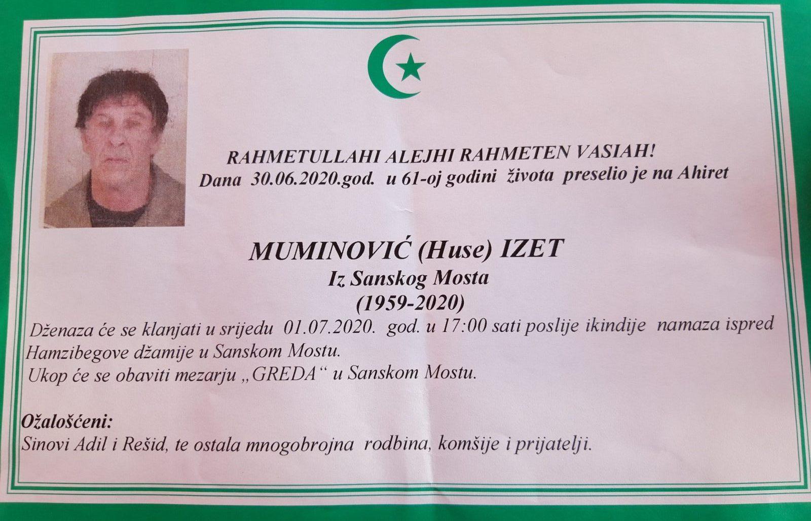 Muminović (Huse) Izet