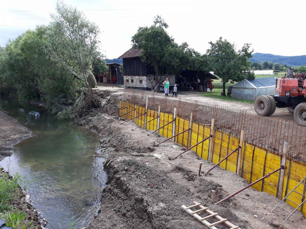 SANA Nastavlja s projektima zaštite od poplava