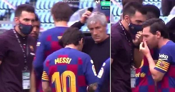 Novi snimak pokazuje kako Lionel Messi otvoreno ignoriše Barceloninog trenera