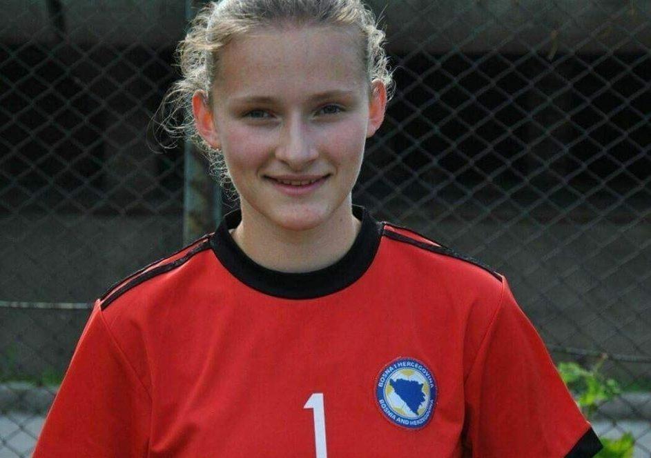 Senada Cerić u juniorskoj reprezentaciji