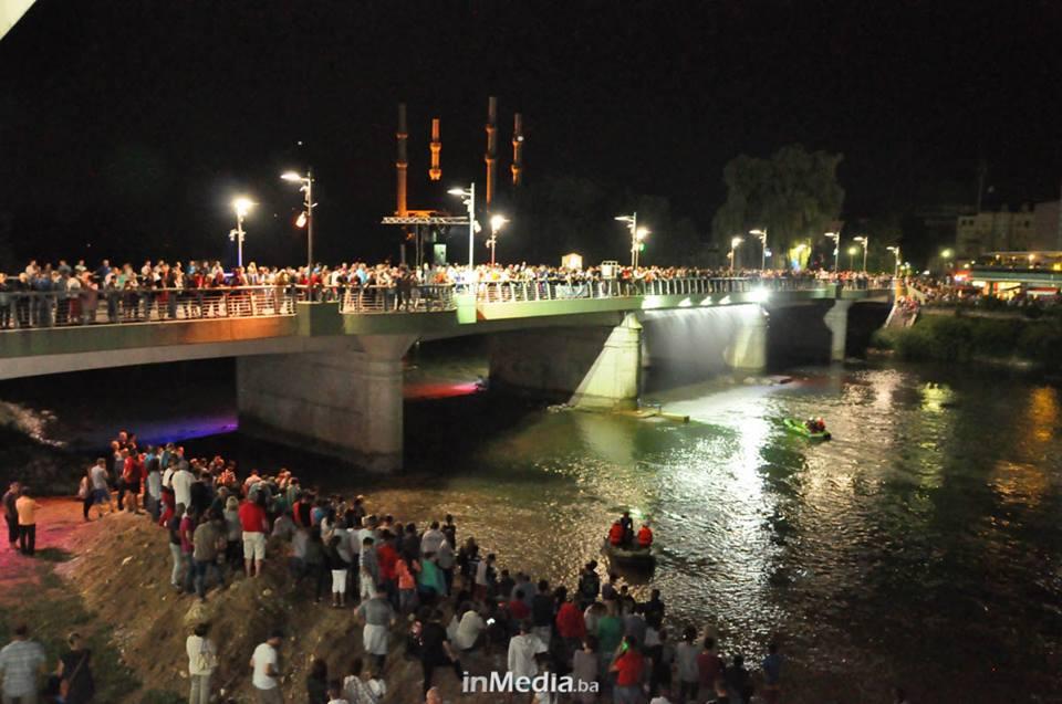 Ljeto u gradu na devet rijeka