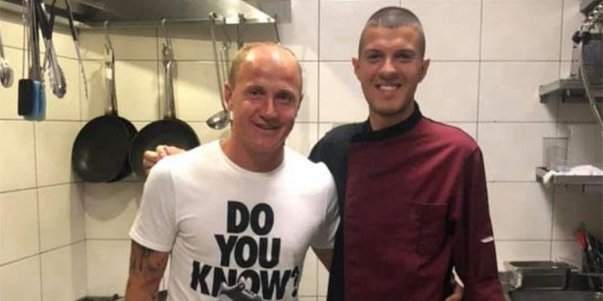 Ibričić ostao bez teksta kada mu je kuhar pokazao tetovažu