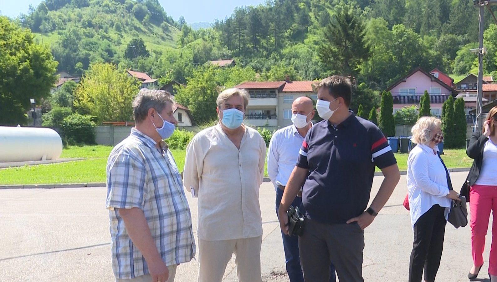 """Delegacija Sanskog Mosta posjetila kompaniju """"Alba Zenica"""""""