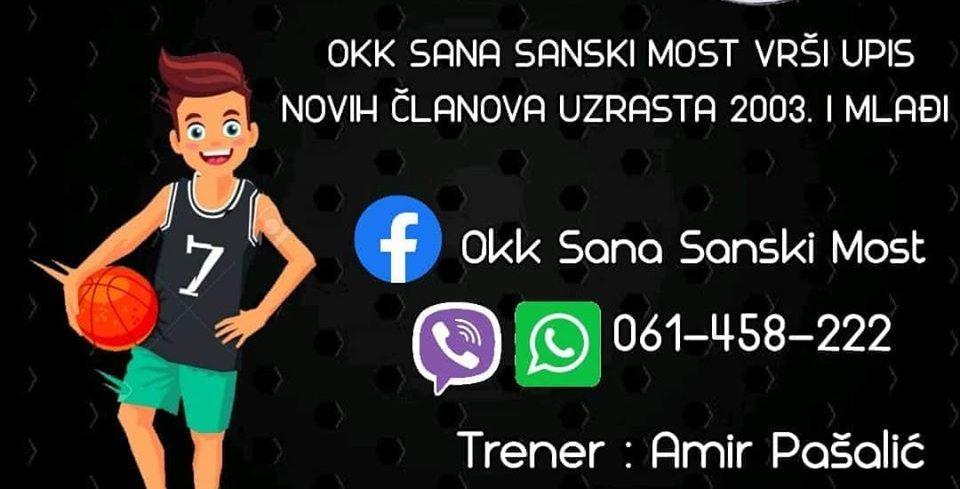 """Počeo novi upis u OKK """"Sana"""""""