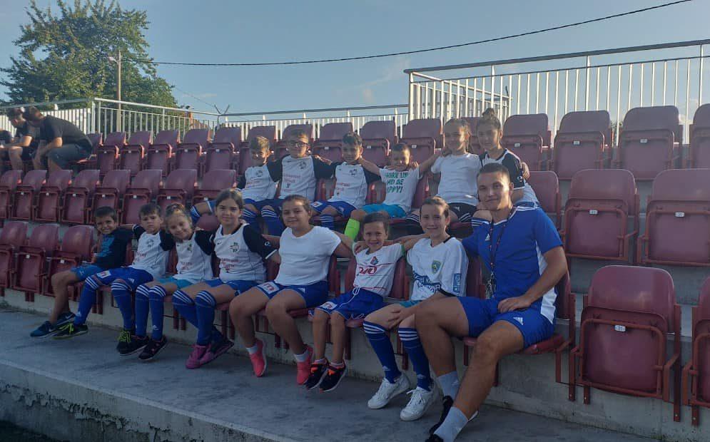 Mališani iz Vrhpolja na svom prvom nogometnom turniru