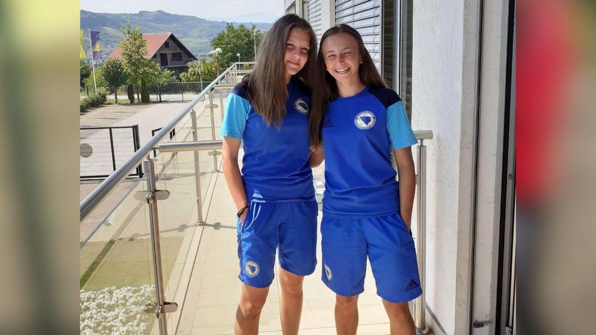 BRAVO Melina Sarajlić i Esma Blažević u državnom dresu