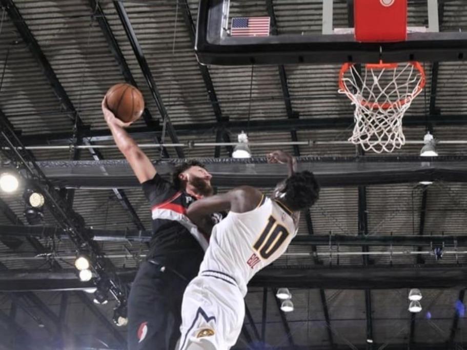 Nurkićevo spektakularno zakucavanje je potez noći u NBA ligi