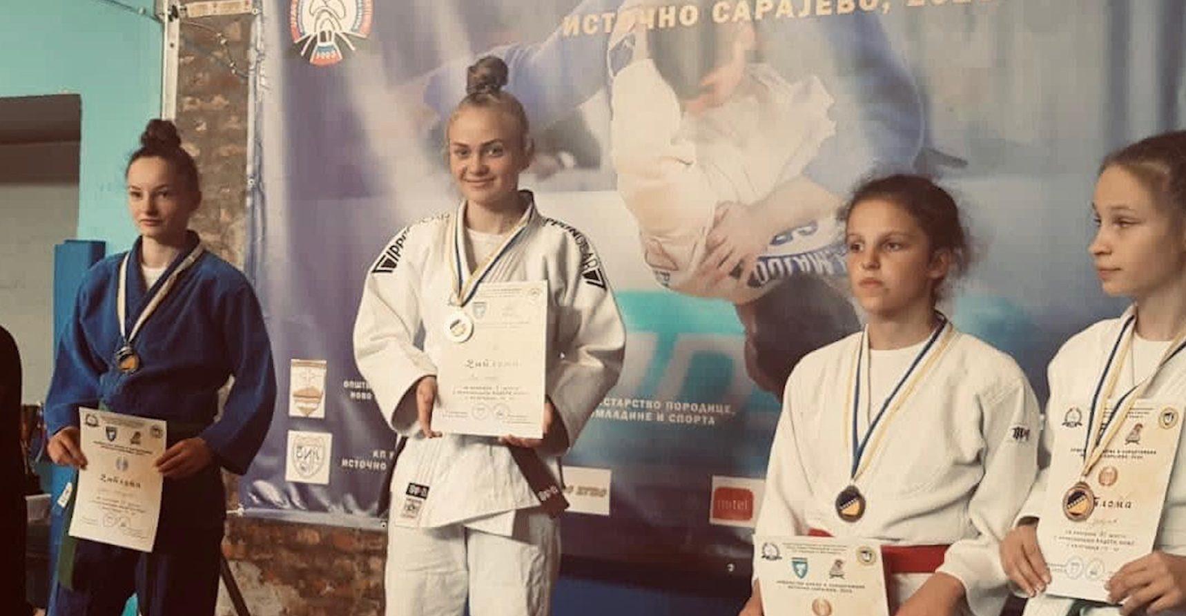 Sanjanka Ena Bašić državna prvakinja u juduo