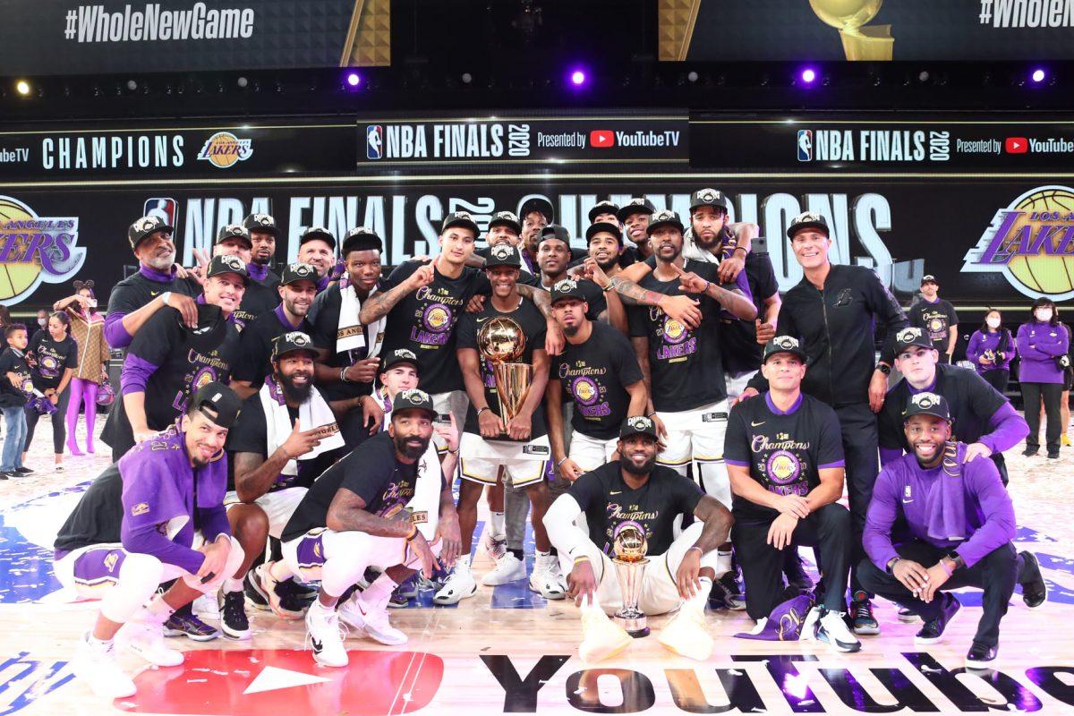 Los Angeles Lakersi šampioni NBA lige: King James MVP finala