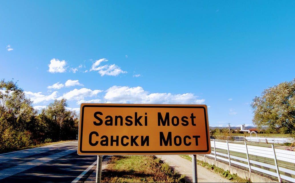 Poleti ptico bijela.. Idi do Sanskog Mosta VIDEO