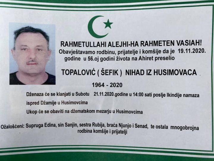 Topalović (Šefik) Nihad
