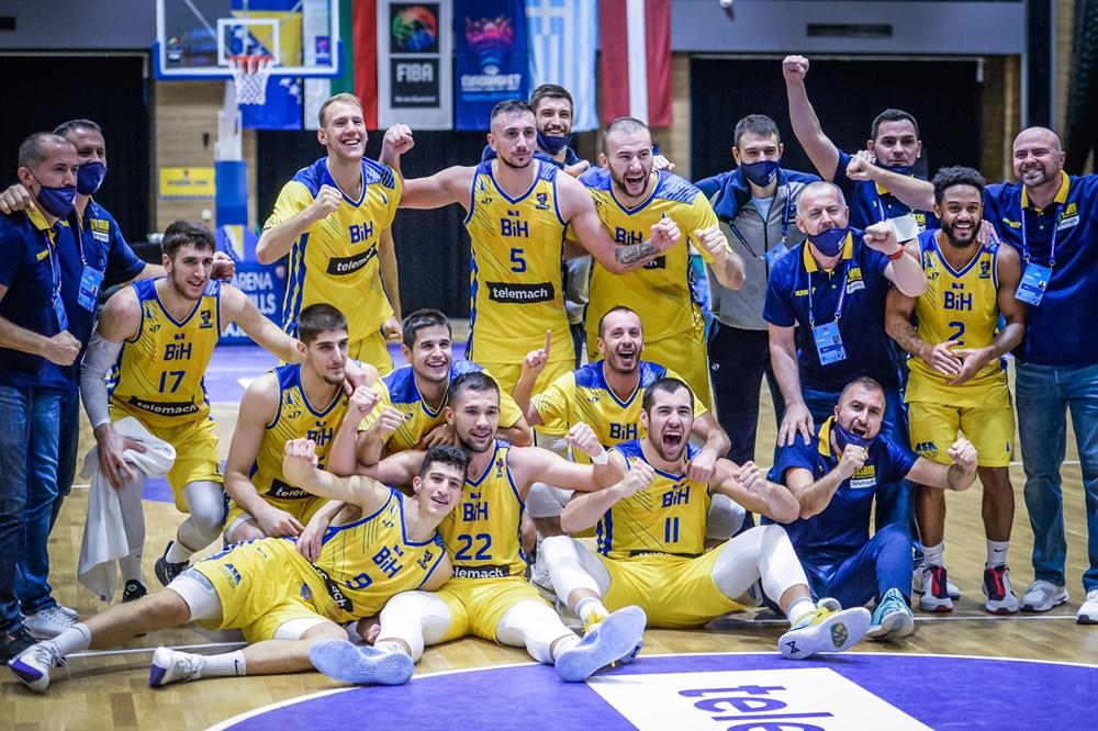 Košarkaši BiH pobijedili Latviju i plasirali se na Evropsko prvenstvo!