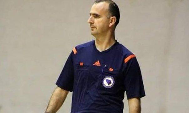 Nogometni sudija Armin Jelin