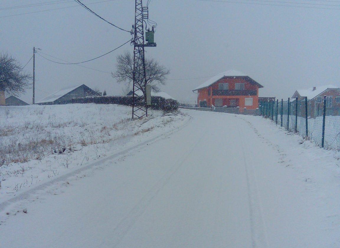 Zimska idila: Snijeg prekrio Bojančić