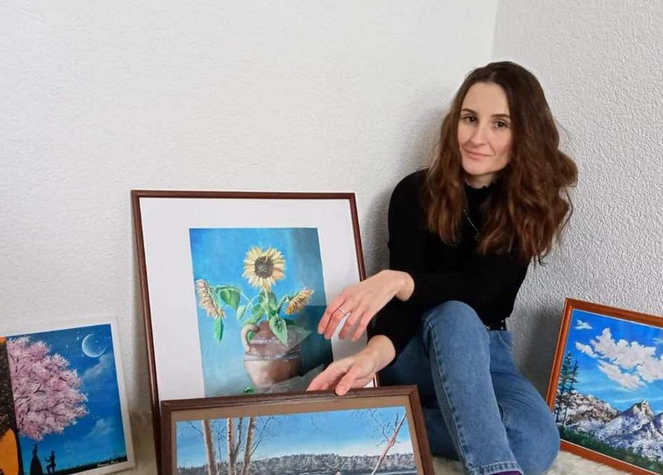 Omanović Amila: Vjerujem u moć boje i u svijet u koji me vodi