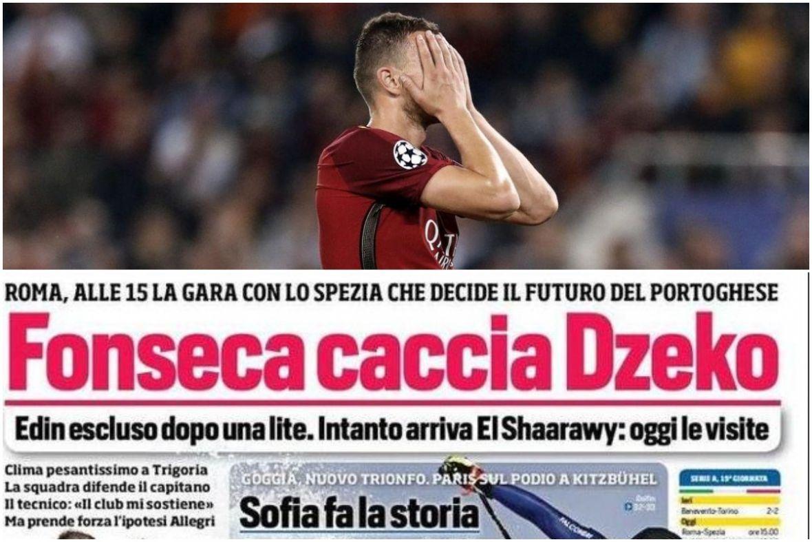 Top vijest u Italiji: Trener tjera Dijamanta, već ove zime napušta Romu?