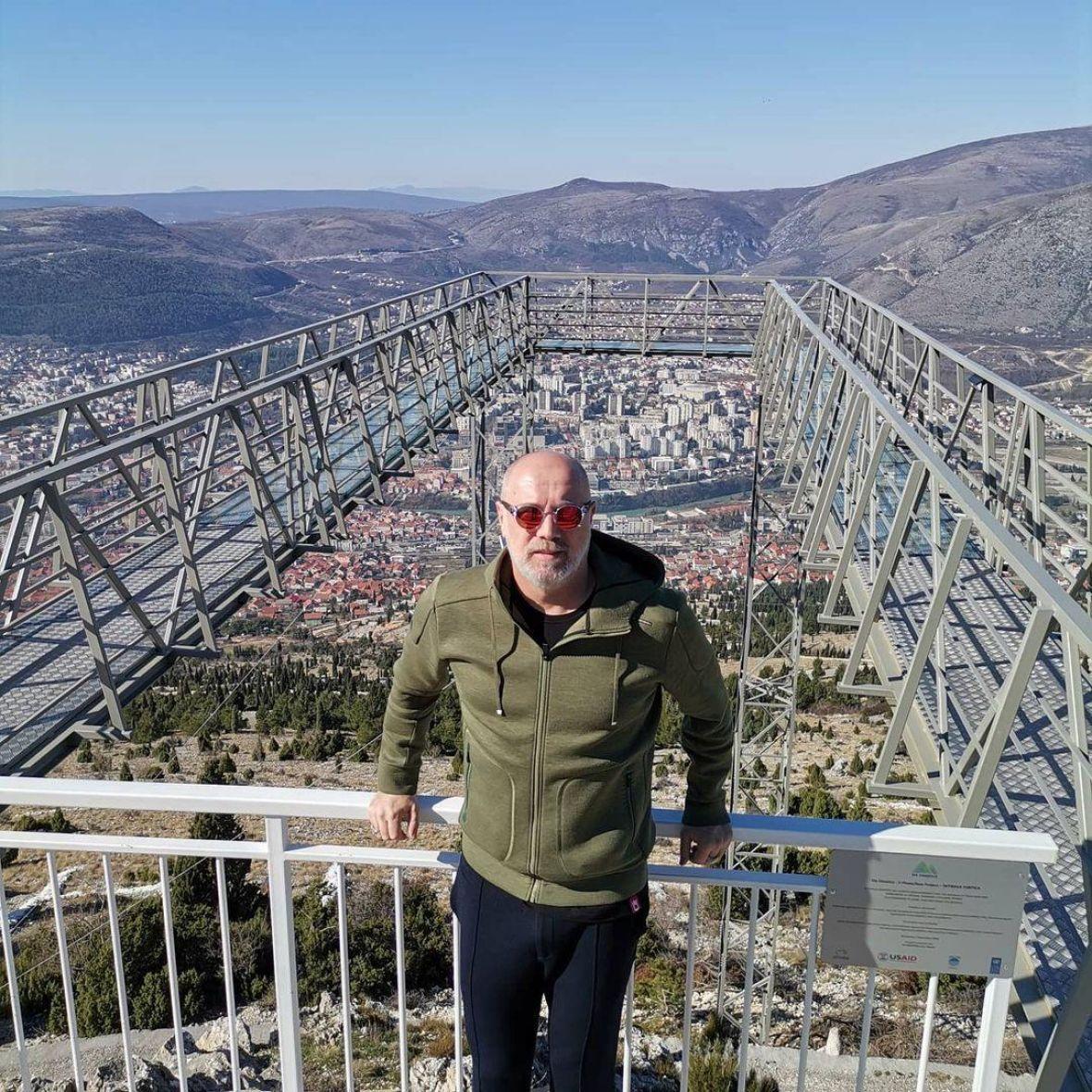 Sergej Barbarez se slikao na Skywalku i citirao Radeta Šerbedžiju