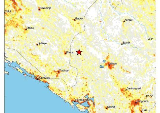 Zemljotres u Hercegovini, obustavljena nastava u Ljubinju i Bileći