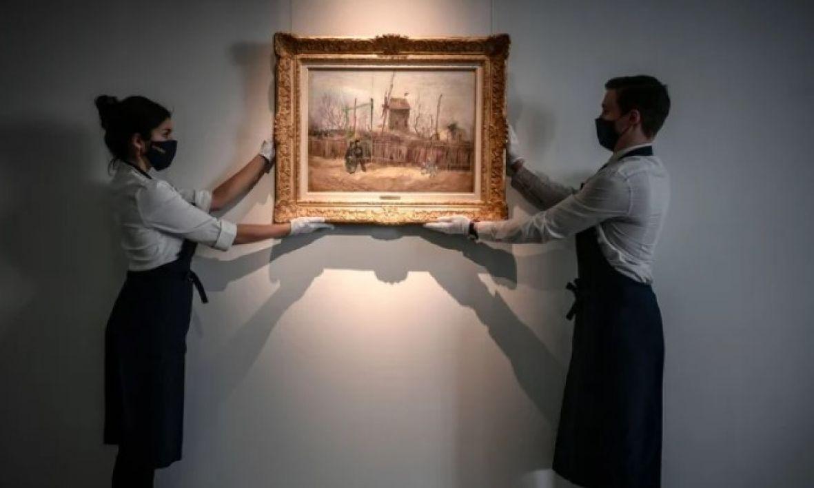 Slika Van Gogha izložena prvi put nakon 100 godina